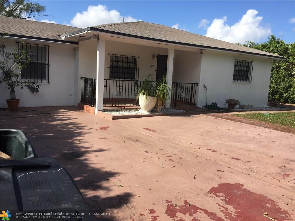 1491 Ne 133rd Rd, North Miami, FL 33161