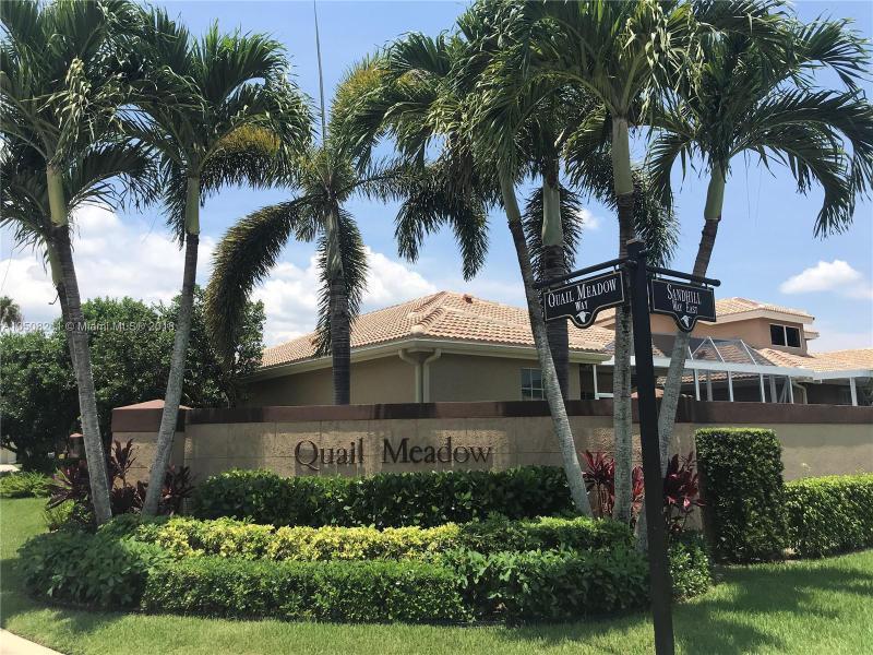 Home for sale in Ibis - Quail Meadow West Palm Beach Florida