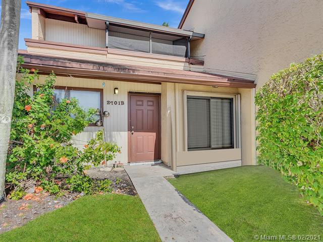 Home for sale in Twin Lakes Gardens Dania Beach Florida