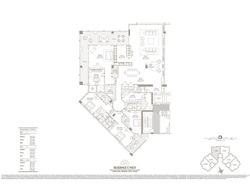 Home for sale in Palazzo Del Sol New Const Fisher Island Florida