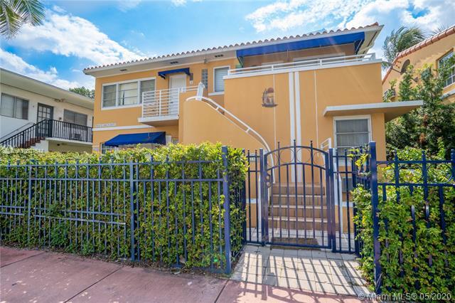 Home for sale in Haynsworth Beach Sub Miami Beach Florida