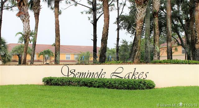 Home for sale in Seminole Lakes & Townhomes Royal Palm Beach Florida