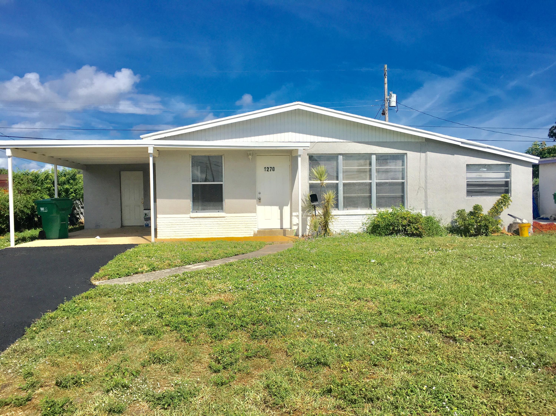 1270 W 1st Street  Riviera Beach FL 33404